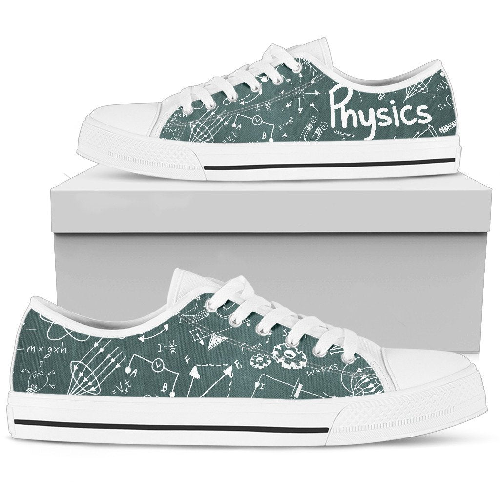 Low Top Shoes - I love Physics  CTM230304 - gopowear.com