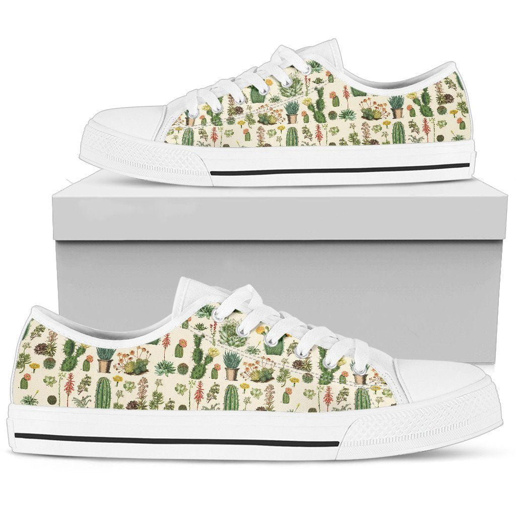 Low Top Shoe - Succulent