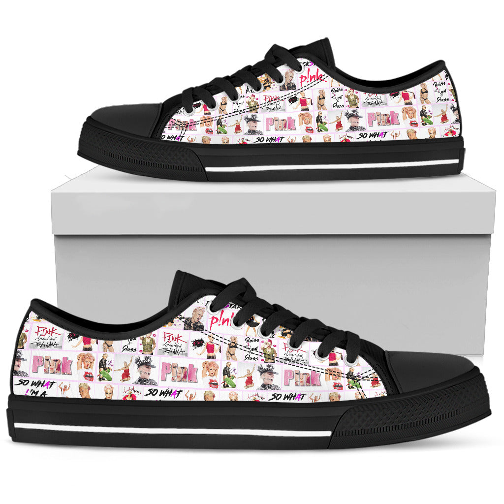 Women's Low Top Shoes - P!nk Singer