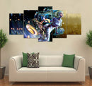 5-piece Zodiac printed Canvas Wall Art AT220201