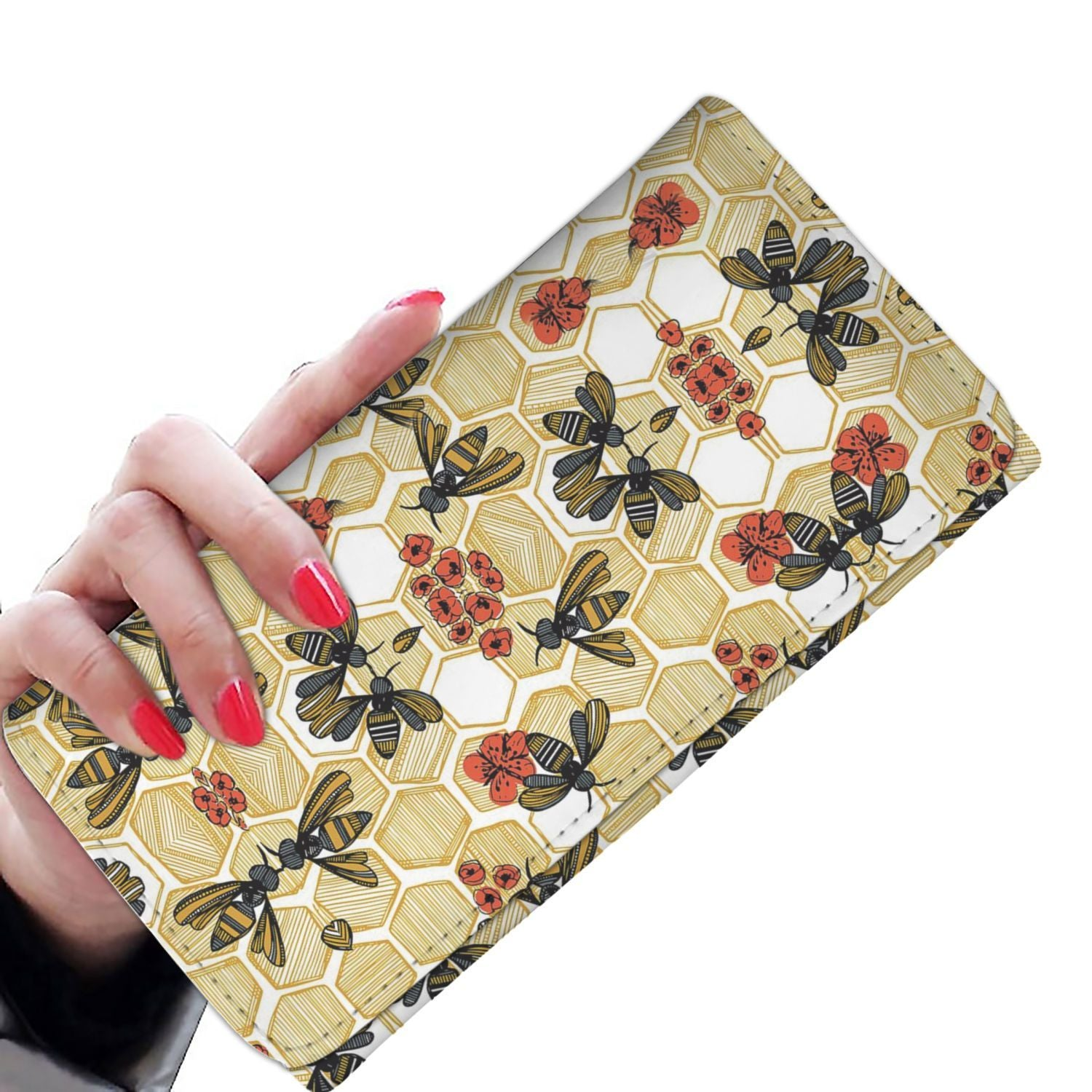 Women Wallet - Bee