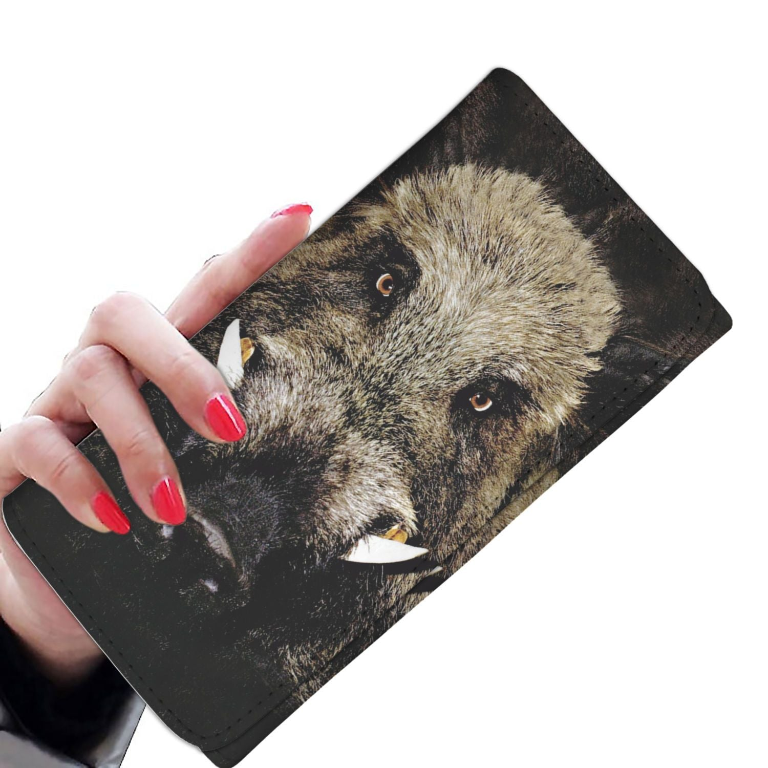 Women Wallet - Wild Boar