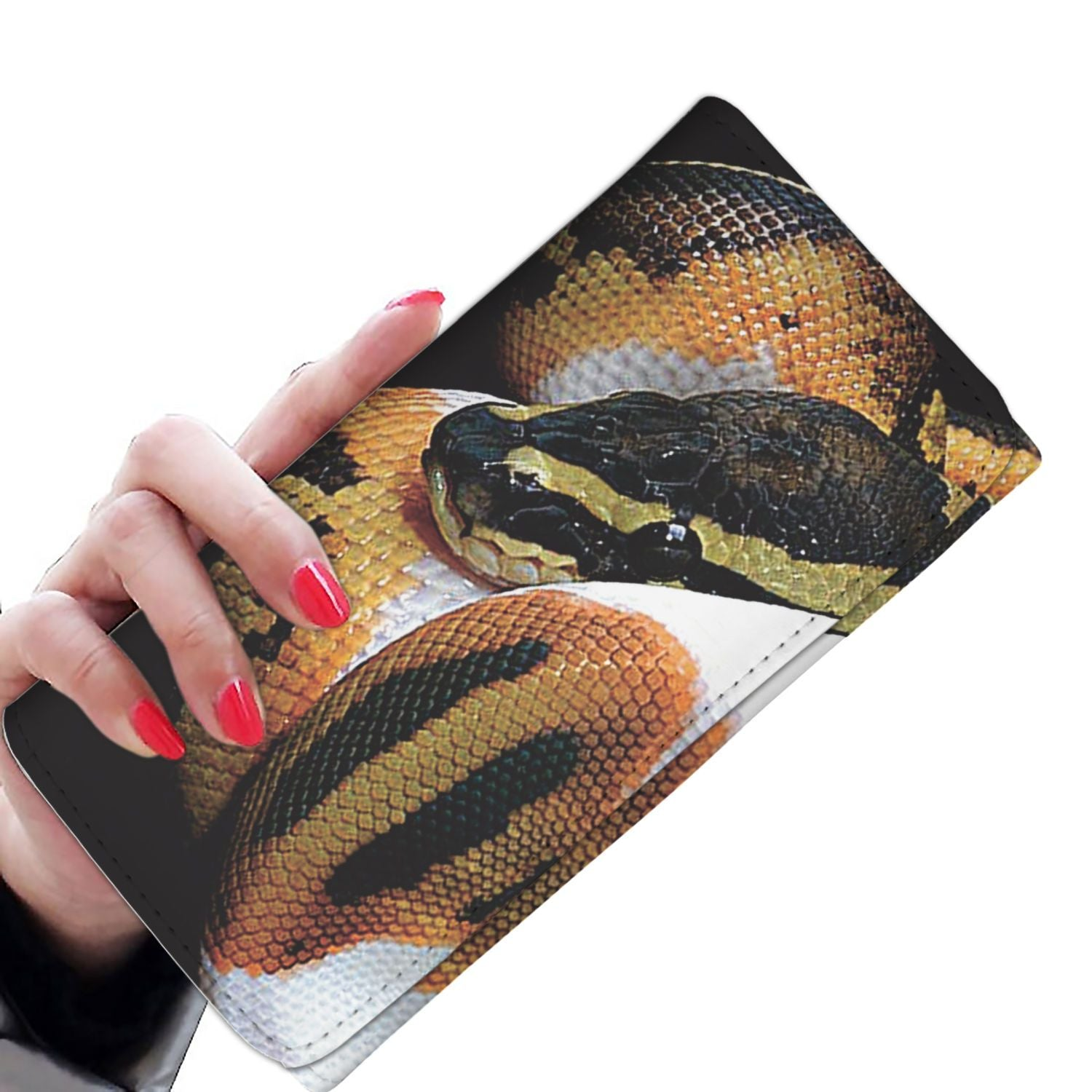 Women Wallet - 3 Color Snake