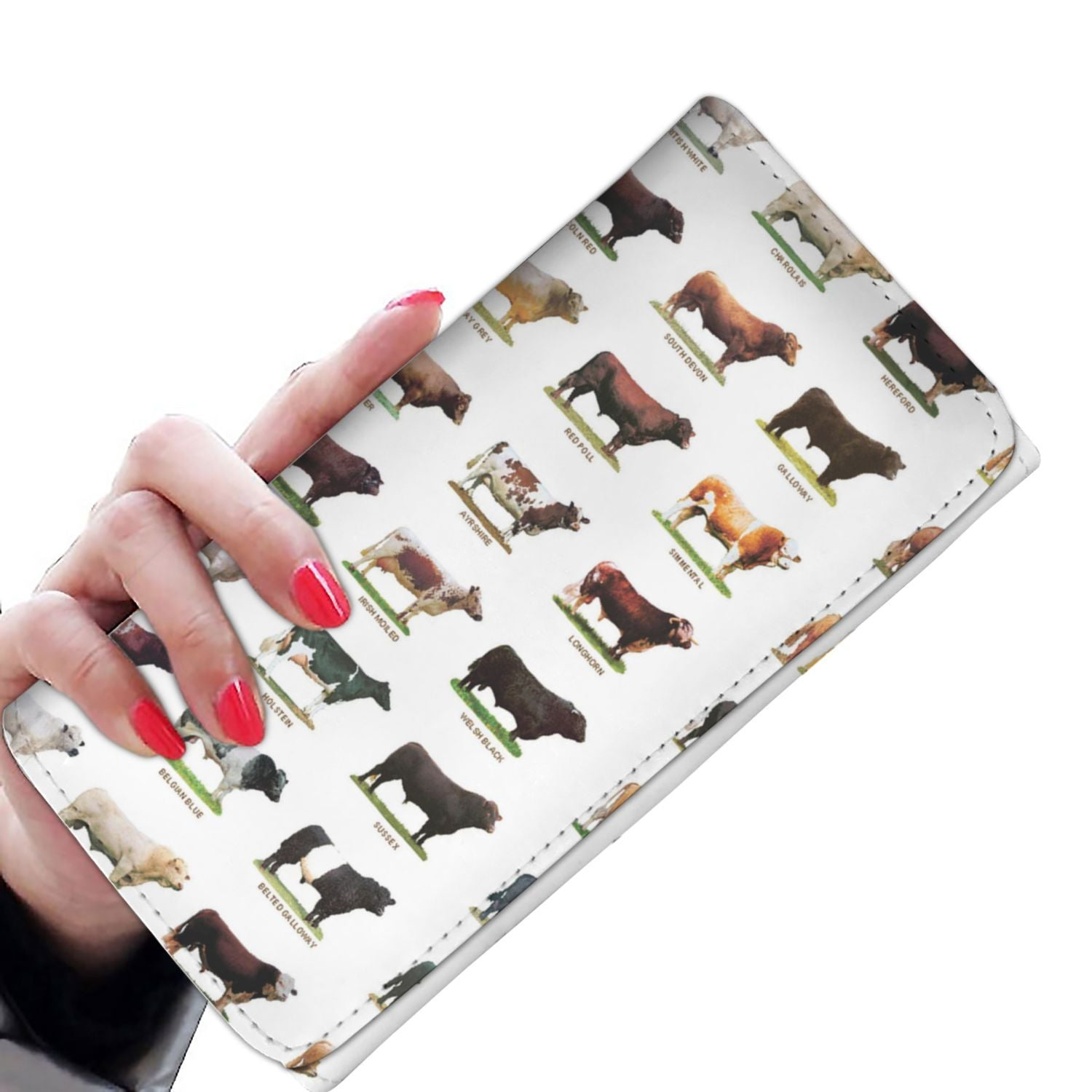 Women Wallet - Cattle Collection