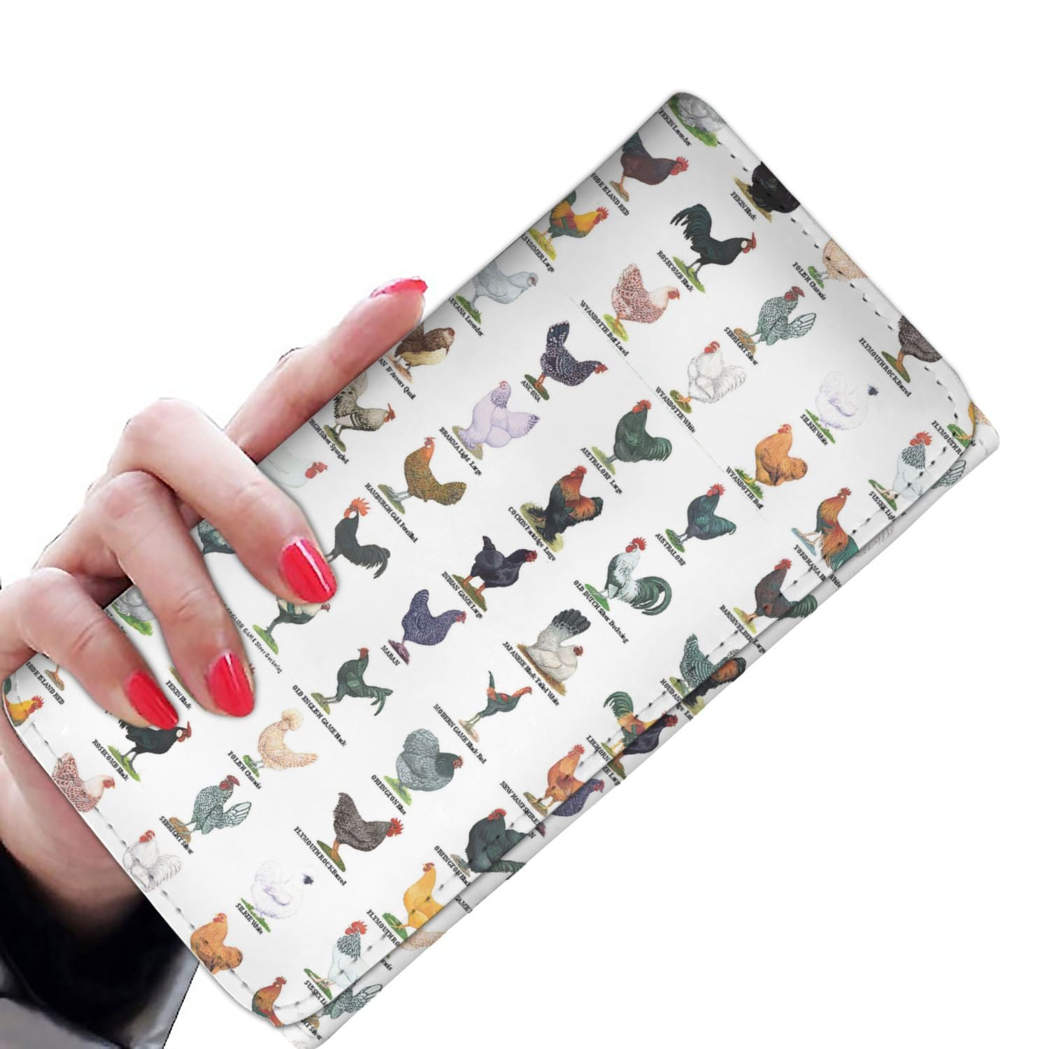 Women Wallet - Poultry Breeds