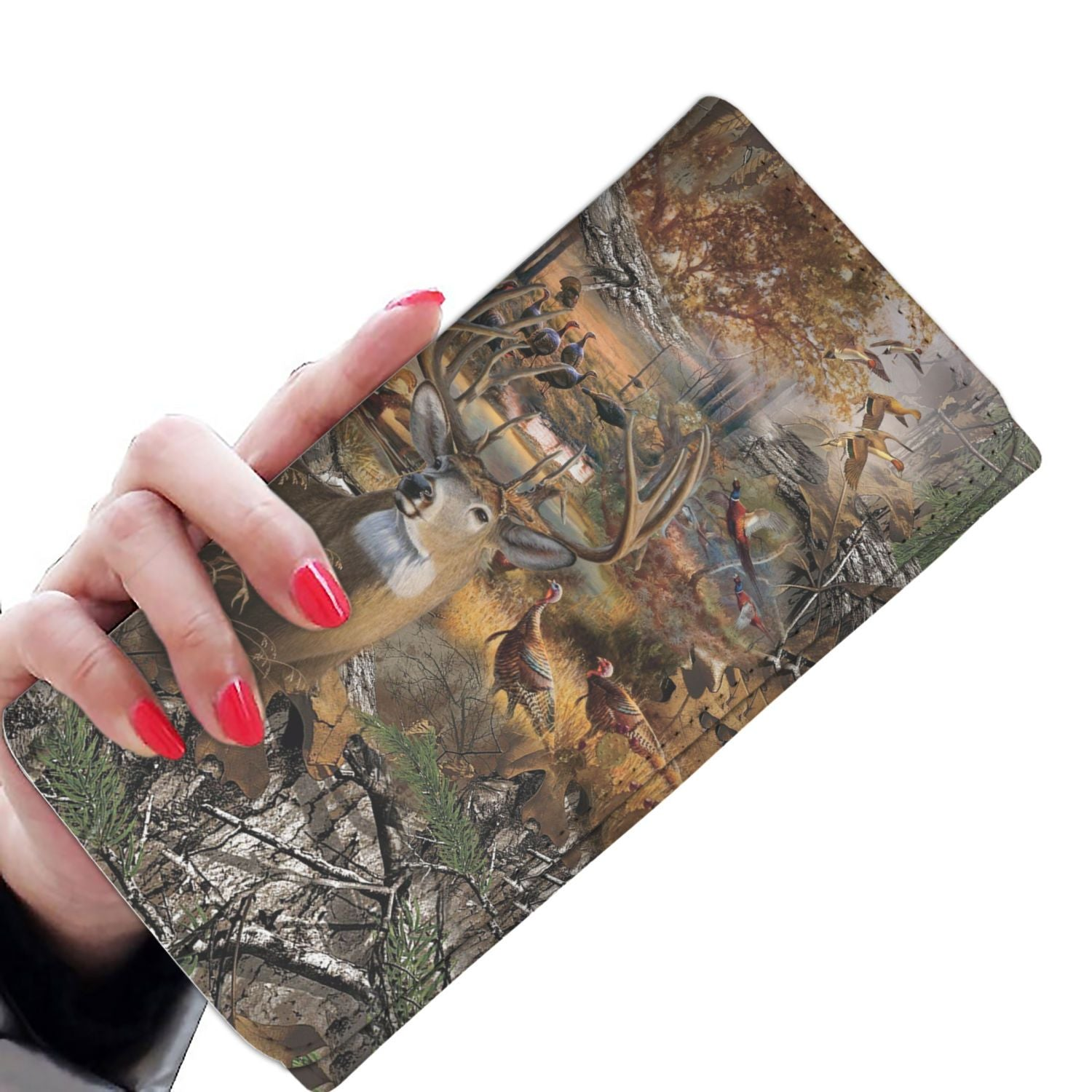 Women Wallet - Hunting Camo