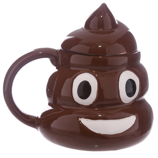 3D Ceramic Emotion Poop-shape Mug - gopowear.com