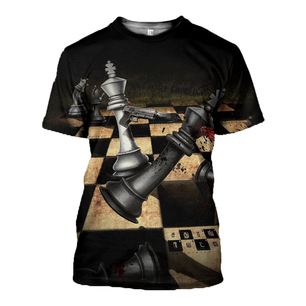 3D printed Chess Tops