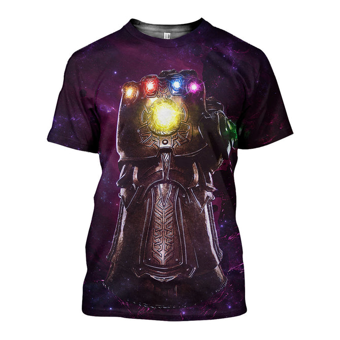 3D All Over Printed Avenger Shirts and Shorts