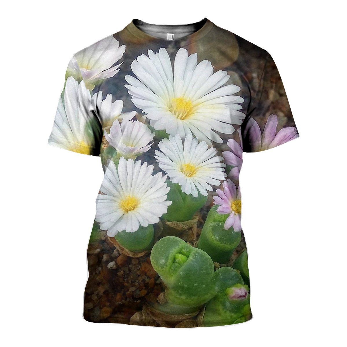 3D All Over Printed Conophytum Limpidum Shirts And Shorts