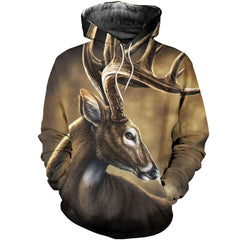3D All Over Printed Deer Shirts and Shorts