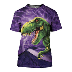 3D All Over Printed Dinosaurs Shirts and Shorts