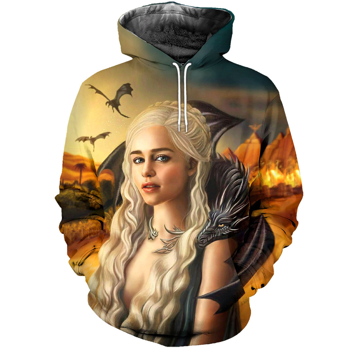 3D All Over Printed Mother of Dragons Shirts and Shorts