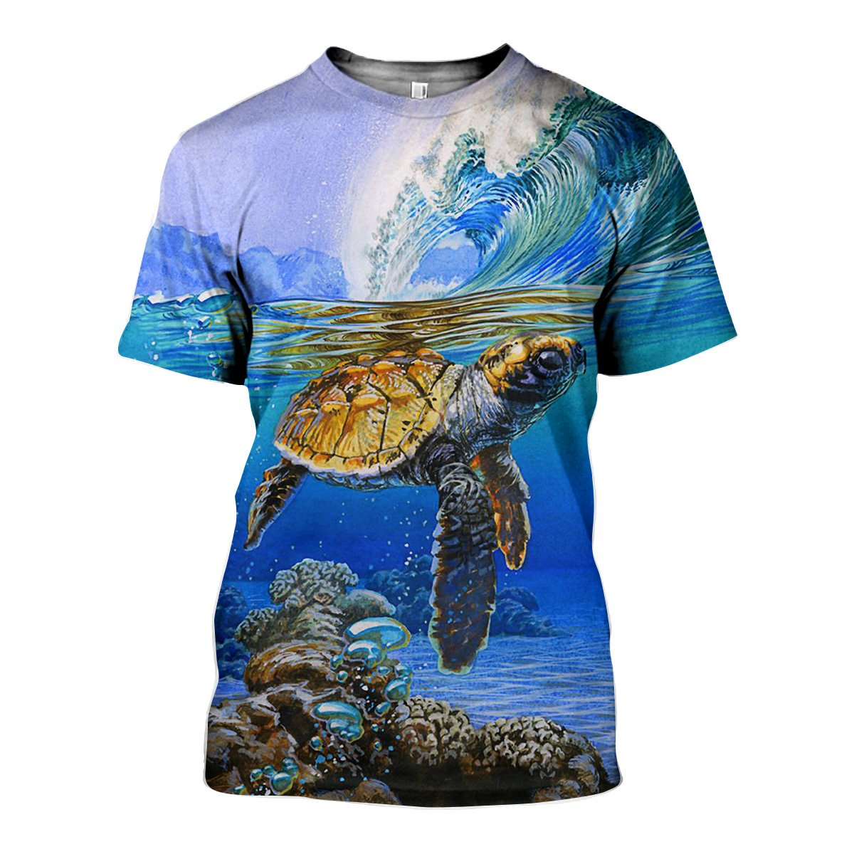 3D All Over Printed Turtle Shirts And Shorts