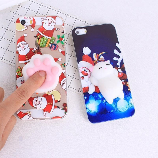 Christmas Squishy Cases For iPhone - gopowear.com
