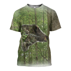 3D All Over Printed Wild Boar Hunting Shirts and Shorts