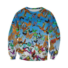 3D All Over Printed Butterfly Shirts and Shorts