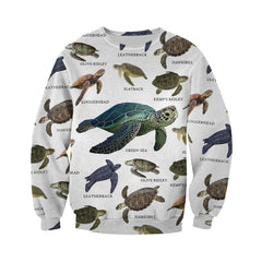 3D All Over Printed Sea Turtles Of The World Shirts and Shorts