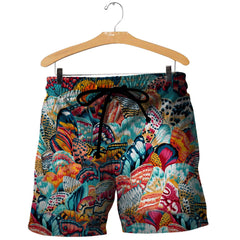 3D All Over Printed Butterfly Art Shirts and Shorts