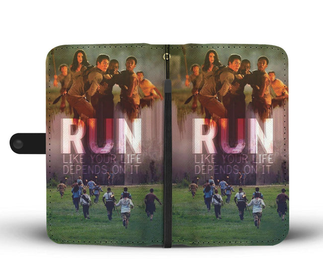 Fashion The Maze Runner Characters Wallet Phone Case - gopowear.com