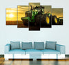 5-piece  Farmers printed Canvas Wall Art