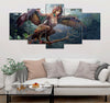 5-piece  Beautiful Creature printed Canvas Wall Art SATL120402
