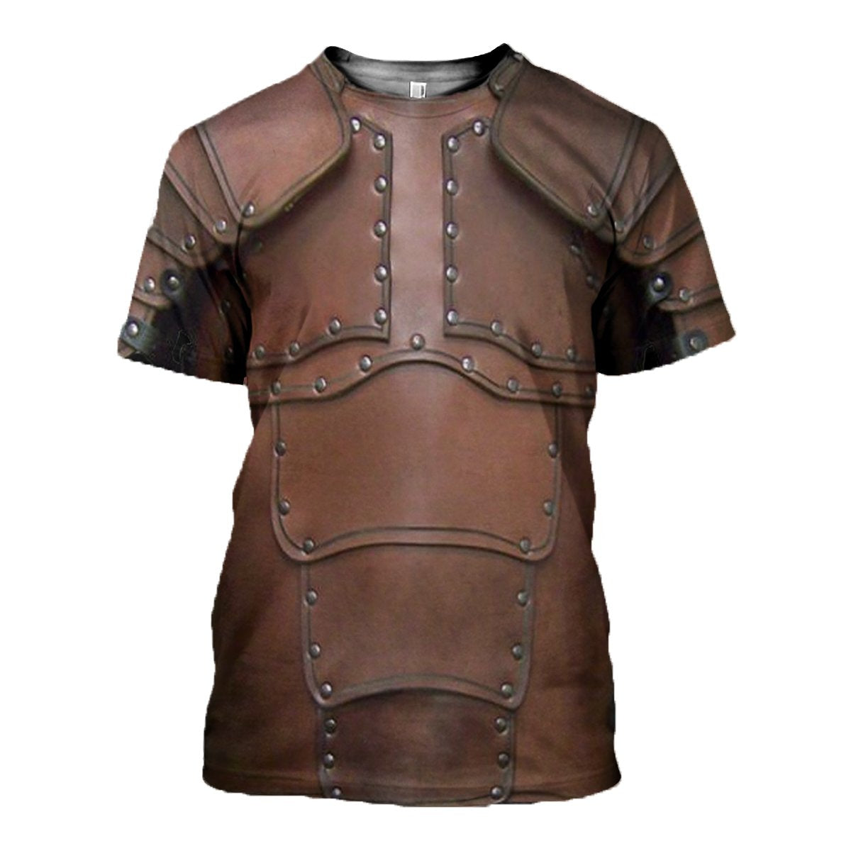 3D printed Leather Armor T-shirt Hoodie