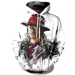 3D printed Future Red Hat T-shirt Hoodie