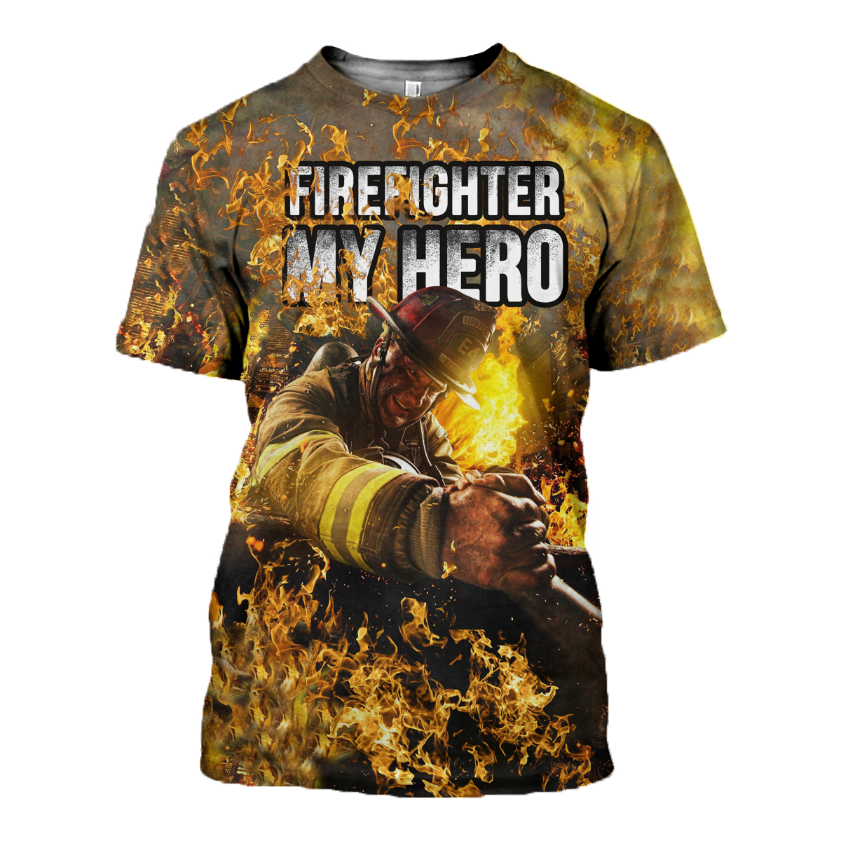 62e1fa66b863 3D All Over Printed Firefighter T-shirt Hoodie SCAL090406 - T-shirt / XS