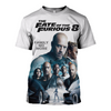 3D printed Fast & Furious 8 FAMILY NO MORE T-shirt Hoodie - gopowear.com