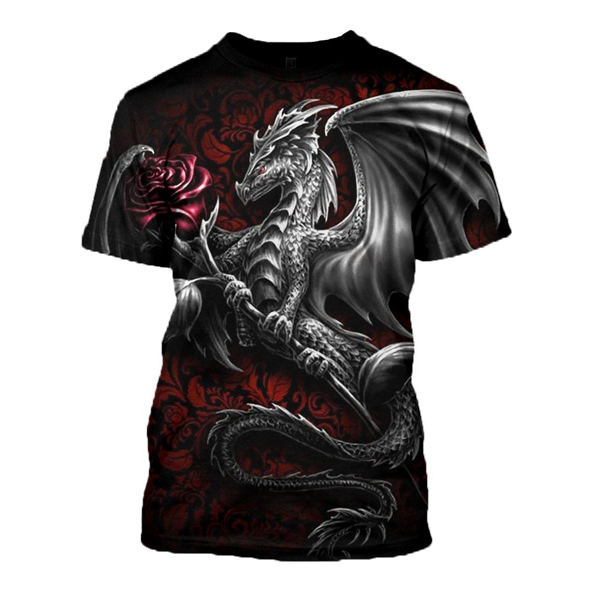 3D printed  Black Dragon T-shirt Hoodie ADGL300303