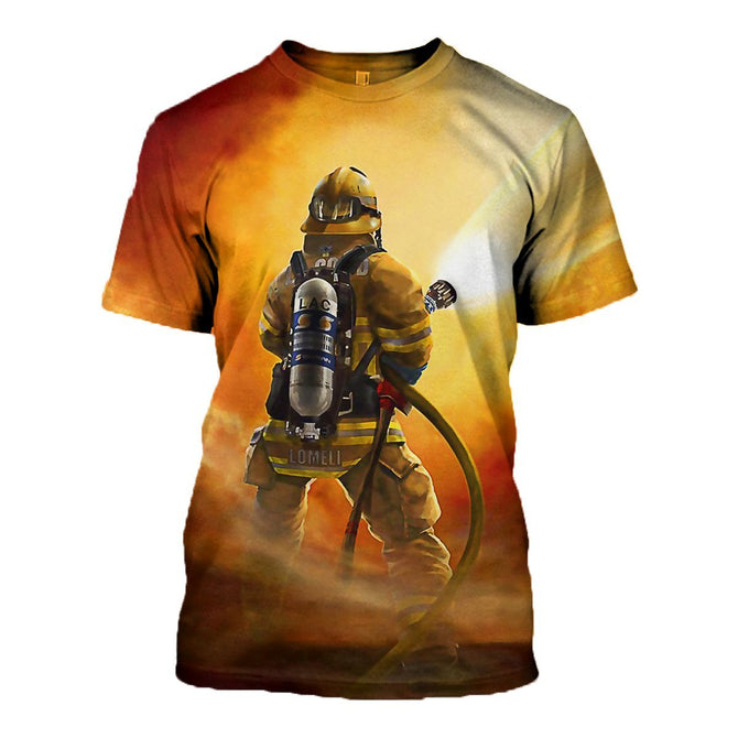 6fe59f8c8b3b 3D All Over Printed Firefighter Back T-shirt Hoodie ADG290304 ...