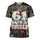 3D printed Eric Church - 61 days in church T-shirt Hoodie - gopowear.com