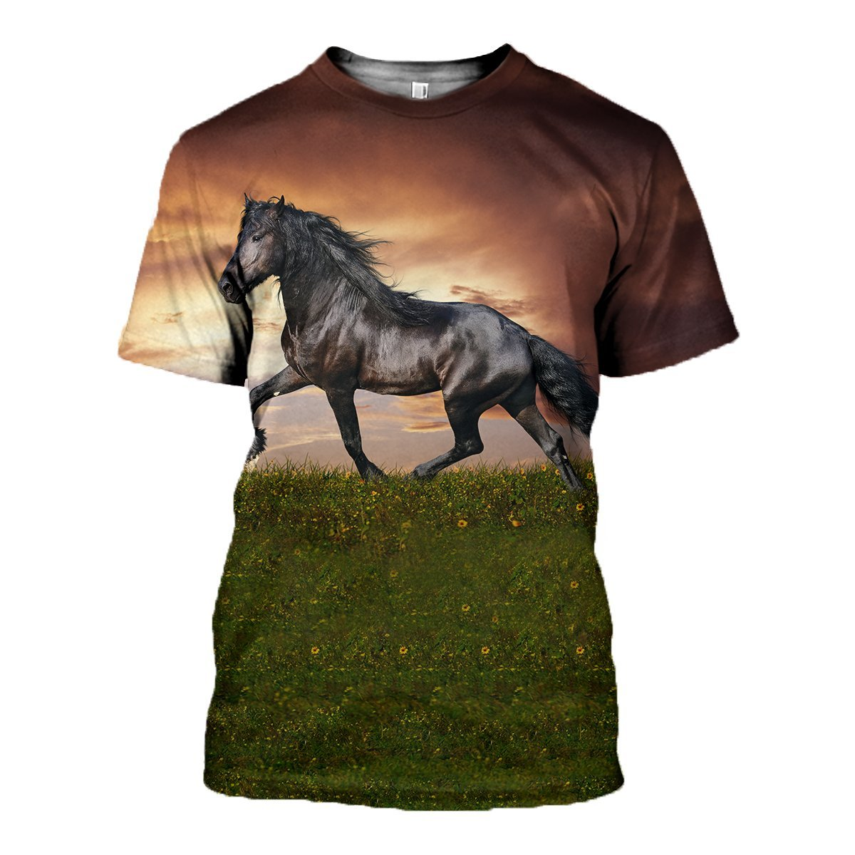 3D printed  Horse in Ground T-shirt Hoodie GTK290319