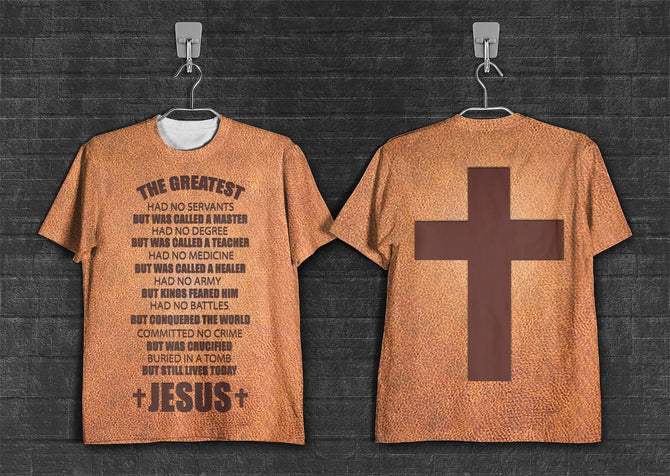 3D printed Jesus - The greatest T-shirt Hoodie  MTL230301
