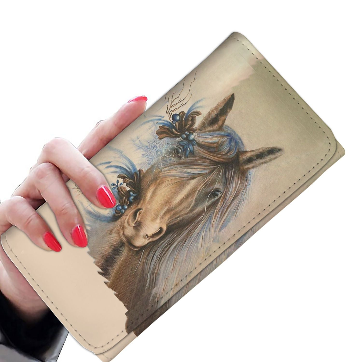 Women Wallet -Beautiful Horse ADAK070505