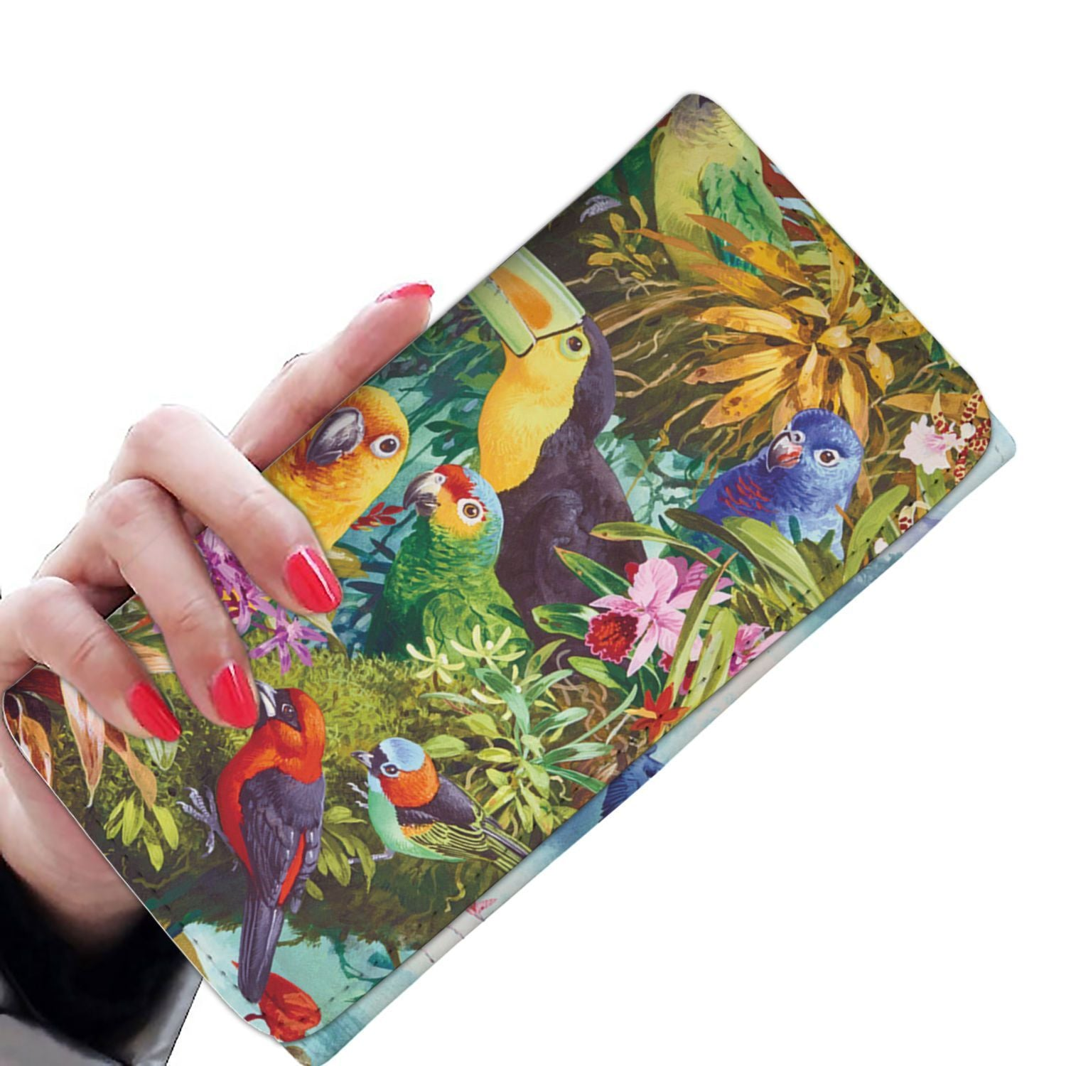 Women Wallet - Birds