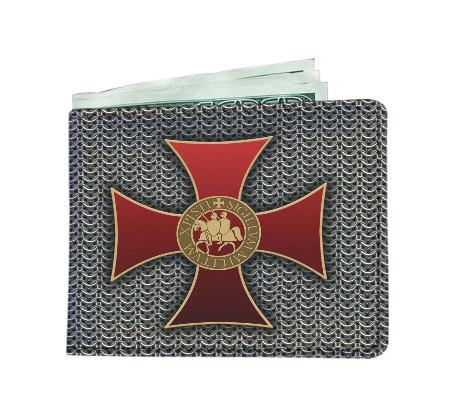 Men Wallet - Knights Templar