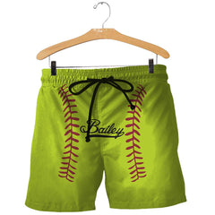 3D All Over Printed Custom Beautiful Softball Shirts and Shorts