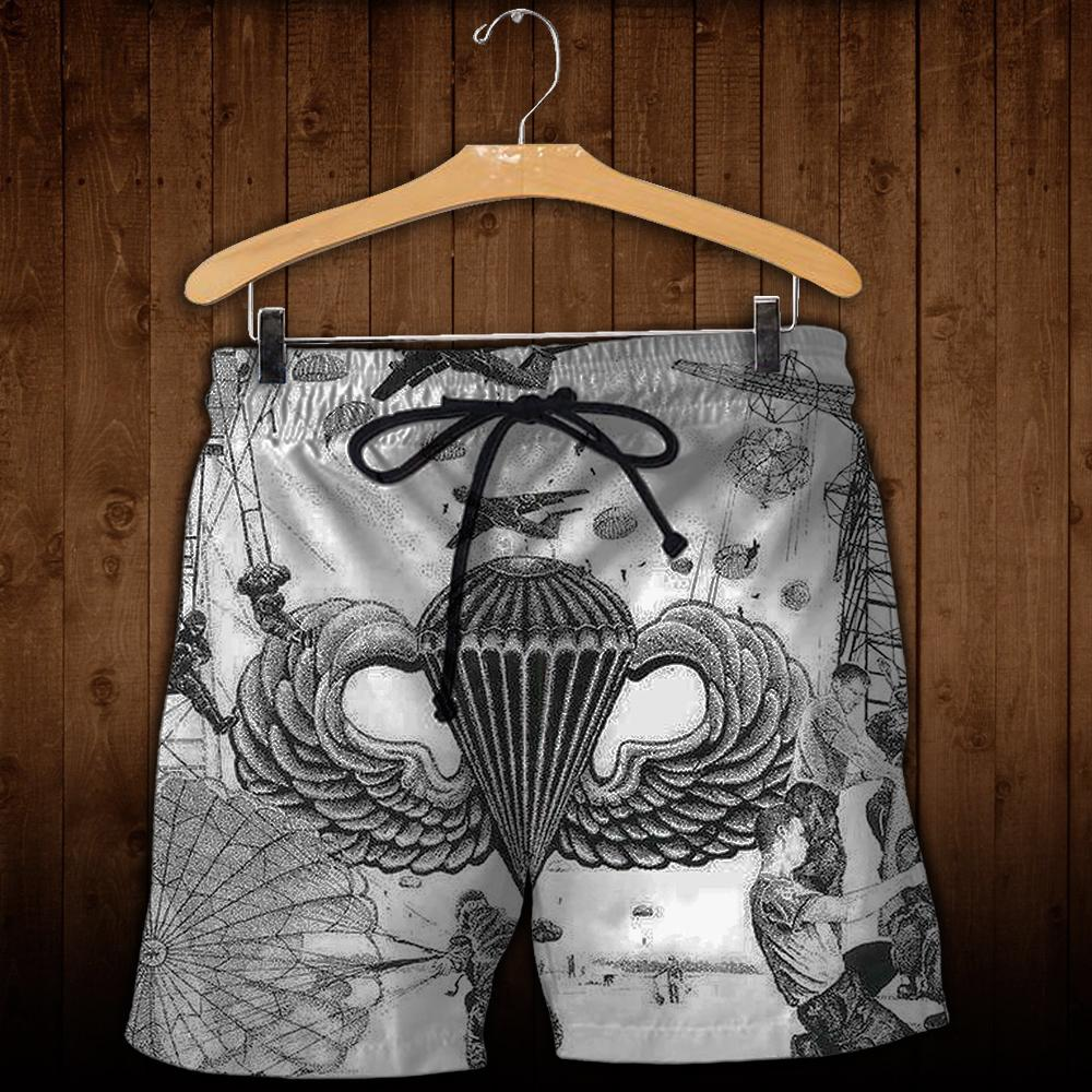 Full printed Paratroopers art Shorts