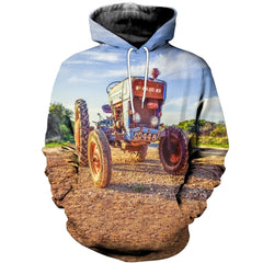 3D printed Ford tractor T-shirt Hoodie SNUL130407