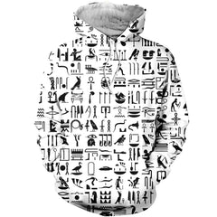 3D All Over Printed Egyptian Hieroglyphs Shirts and Shorts
