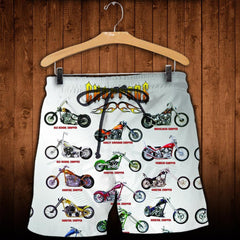3D All Over Printed Chopper Collection Shirts And Shorts