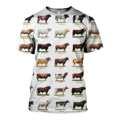 3D Printed Cattle Collection Clothes