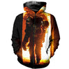 3D printed  Fire Fighter T-shirt Hoodie
