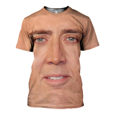 3D All Over Printed Nicolas Cage Shirts And Shorts - gopowear.com