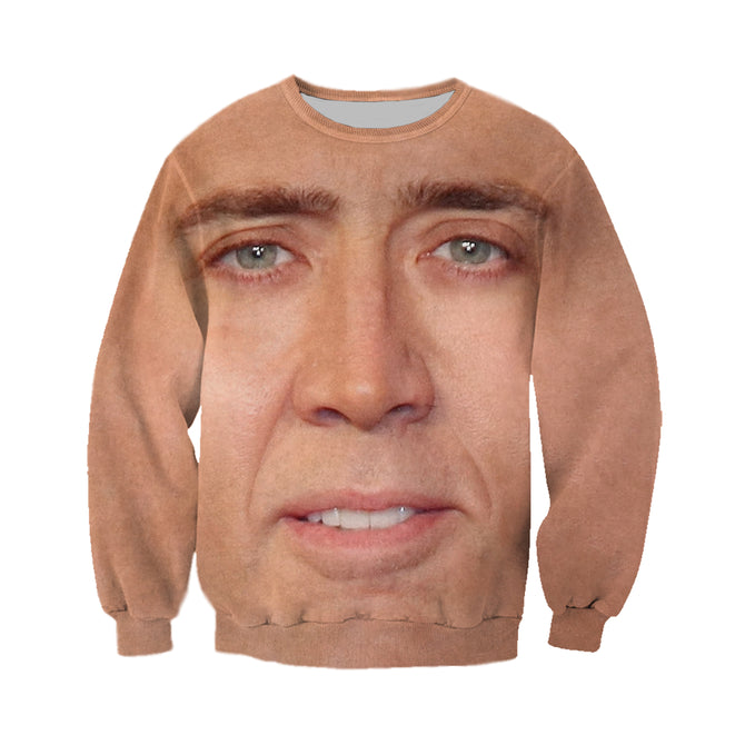 81db604142ca3 3D All Over Printed Nicolas Cage Shirts And Shorts – gopowear.com