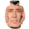 3D All Over Printed Nicolas Cage Shirts And Shorts