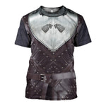 3D All Over Printed Stark Armor Tops