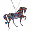 Acrylic Animal Horse Cat Pig Dog Necklace